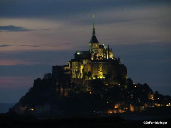 Mt. St. Michel-2013-142 Sunset over St. Michel