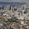 View of downtown Cape Town, South Africa