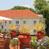 Victoria Falls Hotel, Zimbabwe.: Rear view of the hotel