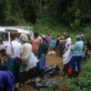 Londorosi Entrance to Kilimanjaro National Park: Getting ready to start the trek