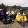 Our guides resting, Shira Plateau, Mt. Kilimanjaro: They were wonderful men, and great guides!