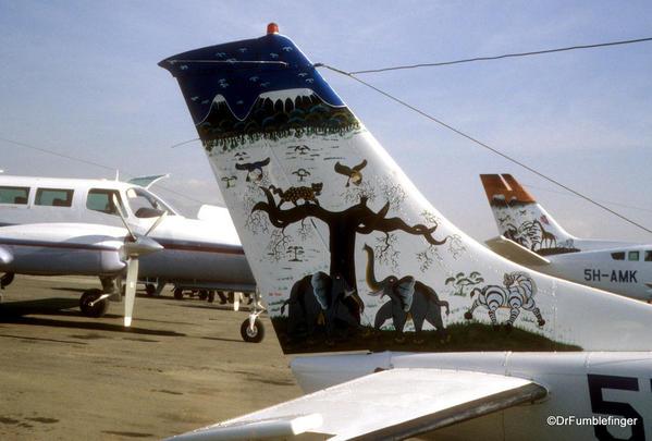 1999 Tanzania Serengetti 055. Arusha airport