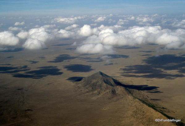 1999 Tanzania Serengetti 059. Flight to Serengeti