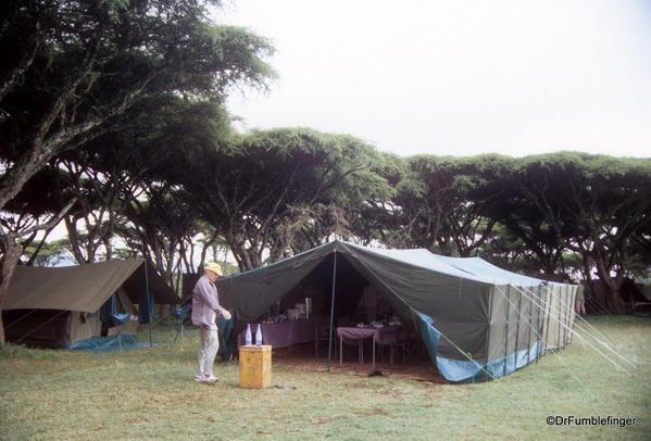 1999 Tanzania 047. Ngorongoro Crater camp