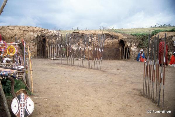 1999 Tanzania 058. Olduvai Gorge. Maasai