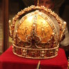 Vienna -- Schatzkammer at Hofburg Palace: Home to the Crown Jewels of the Hapsburg family. This beautiful jewel-studded gold crown, belonging to Rudolf II, is one the highlights of the collection