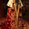 Vienna -- Schatzkammer at Hofburg Palace: One of dozens of beautiful royal robes, many used during coronation ceremonies