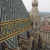 St. Stephen's Cathedral, Vienna, Austria: Viewed from the roof of the Cathedral