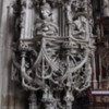 St. Stephen's Cathedral, Vienna, Austria: An elaborately carved altar
