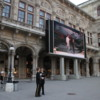 Vienna Opera House: During the summer, free viewing of the performances on a large screen T.V.