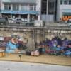 Vienna -- Graffiti along Vienna River