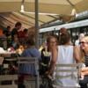 Luncheon at the Naschmarket, Vienna, Austria: An interesting farmer-style market