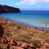 Isla Espiritu Santo, views of the Sea of Cortez