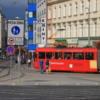 Bratislava -- street tram