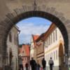 Ceský Krumlov -- arch
