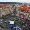 Prague -- View of Old Town Square from Town Hall
