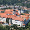 View of Strahov Monastery from Petrin Tower