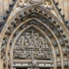 Detail of Exterior of St. Vitus Cathedral, Prague