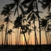 Pu'uhonua o Honaunau -- Place of Refuge, sunset