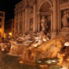 Trevi Fountain, Rome: Built as a celebration of the repair of the aqueducts and arrival of abundant fresh water in Rome