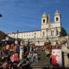 Spanish steps, Rome: I can't see what all the fuss is about