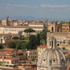 Rome skyline -- viewed from Rome From the Sky
