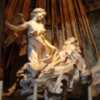 Rome -- the Ecstacy of St Theresa: A magnificent piece, crafted by the great Bernini