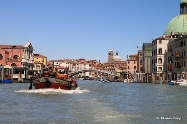 Venice -- Grand Canal, close to Train station