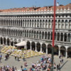 Venice -- St. Mark's Square: Filled with cafes, tourists and pigeons. One of the icons of European travel