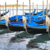 Venice -- gondolas: Each gondala is hand craft and exhibits fine workmanship