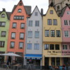 Medieval homes, Cologne, Germany