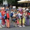 School children on a field trip, Bratislava, Slovakia
