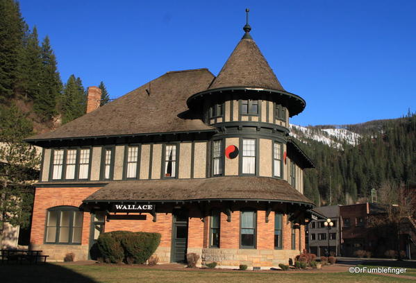 Northern Pacific Depot Museum, Wallace, Idaho