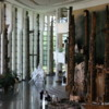 Gatineau -- Museum of Civilization, Grand Hall: A magnificient hall with a truly impressive display of historic totems and Indian artifacts.