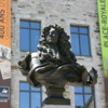 Quebec -- Place Royale: Statue of the Sun King, Louis XIV