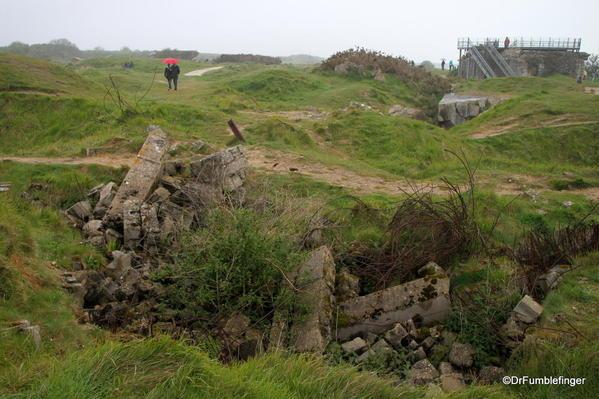D-Day Beaches 2013-003c Pointe du Hoc