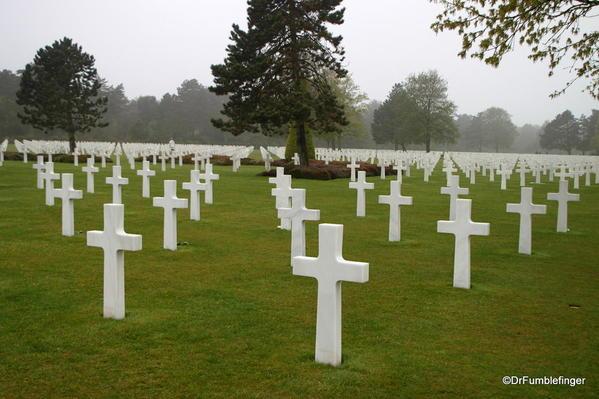 D-Day Beaches 2013-042 American Cemetery