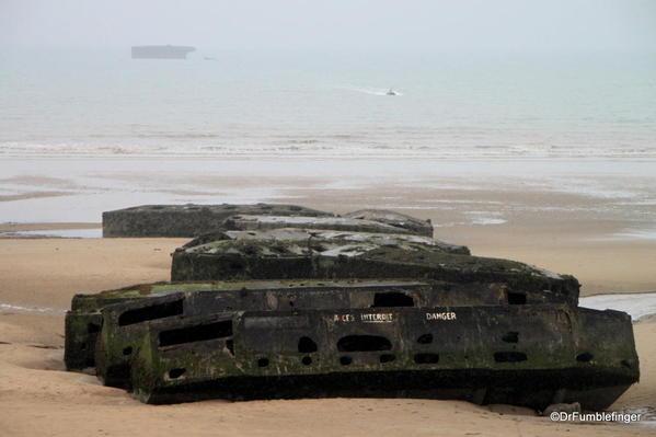 D-Day Beaches 2013-098 Arromanches, Port Winston Beach