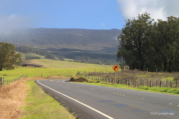 Haleakala-2013-003 Road through Upcountry Maui