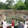 Anuradhapura -- Kuttam Pokuna: One of two very well preserved water reservoirs.