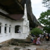 Dambulla -- Cave Temples: During my first visit I was one of the few people there.