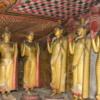 Dambulla -- interior Buddha statues
