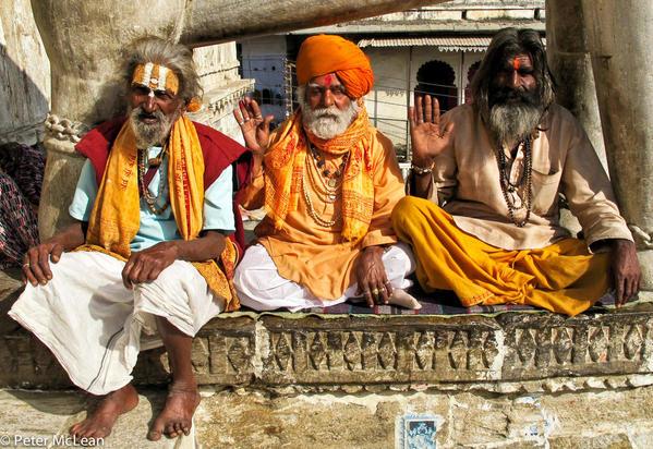 1 -Sadhus in Varanasi-3535