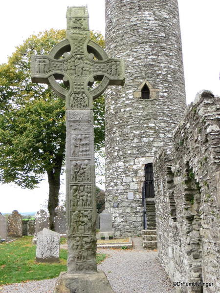 High Celtic Cross and Tower, Monasterboice, Ireland