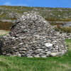 Beehive huts, Dingle Peninsula, Ireland: Well over a thousand years old, there are many of these dwellings on the Dingle Penisula