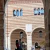 Entering the Piazza dei Signori