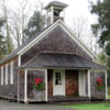Schoolhouse, Oysterville, Washington