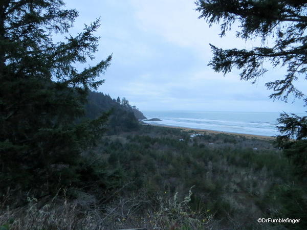 Cape Disappointment State Park at dusk