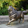 Seattle -- University of Washington Husky Mascot