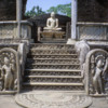 Polonnaruwa -- Vatadage: The function of the Vatadage is somewhat unclear but many believe that it may have housed the famous Buddha tooth relic (now found in Kandy), or perhaps Buddha's alms bowl.